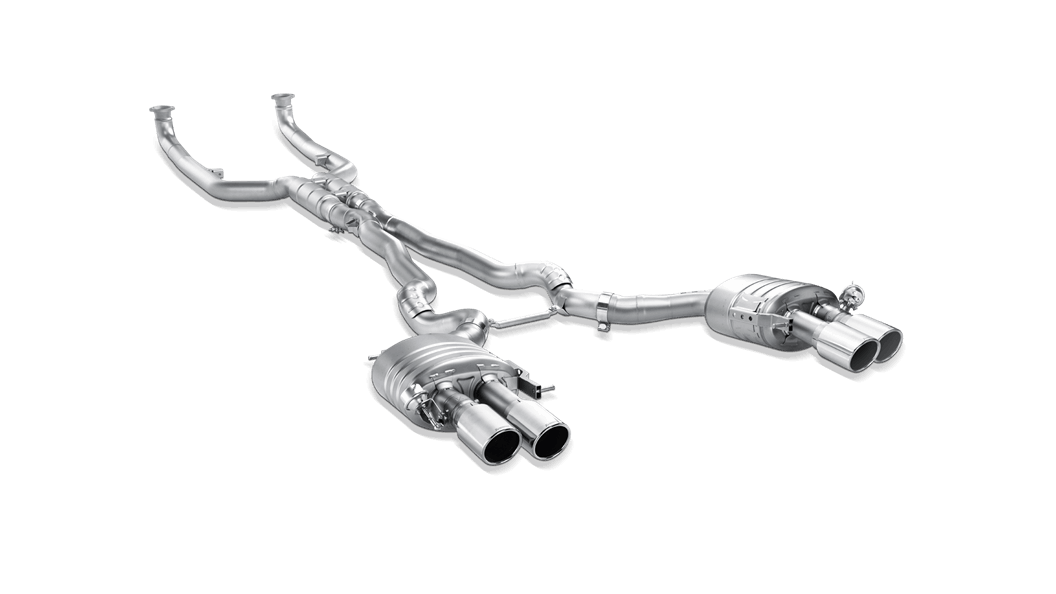 Akrapovic Evolution Line For BMW M6 F12