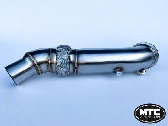 MTC Motorsport Stainless Steel Decat Downpipe Exhaust Pipe For BMW M240i
