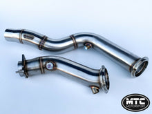 Load image into Gallery viewer, MTC Motorsport Stainless Steel Decat Downpipes Exhaust Pipe For BMW M4 F82