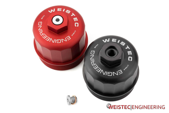 Weistec Engineering BMW S63 Billet Oil Filter Cap