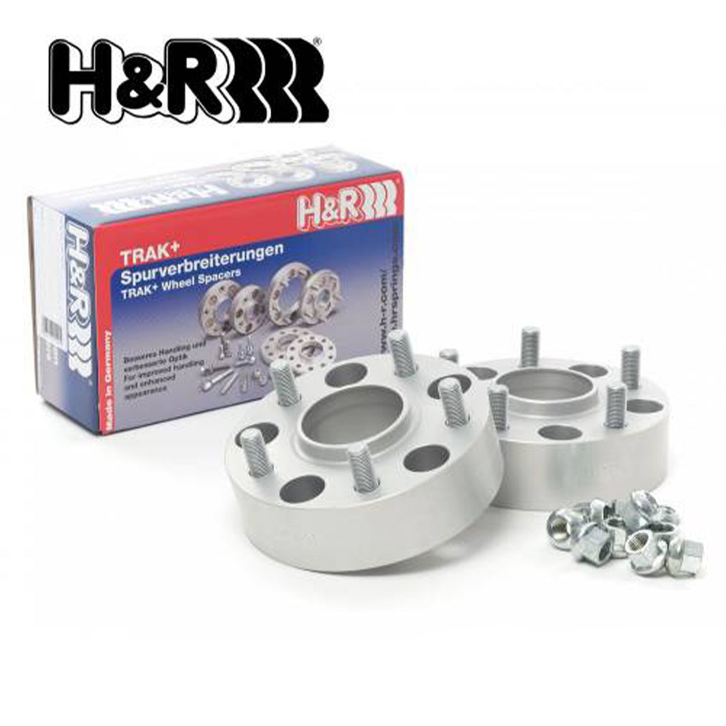 H&R TRAK+ 5MM Wheel Spacers For BMW M3 E46