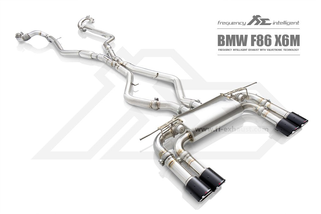 Frequency Intelligence Exhaust For BMW X6M F86