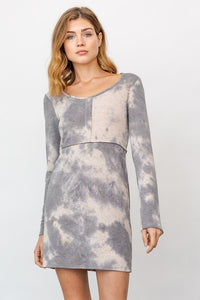 Soft Tie Dye Dress
