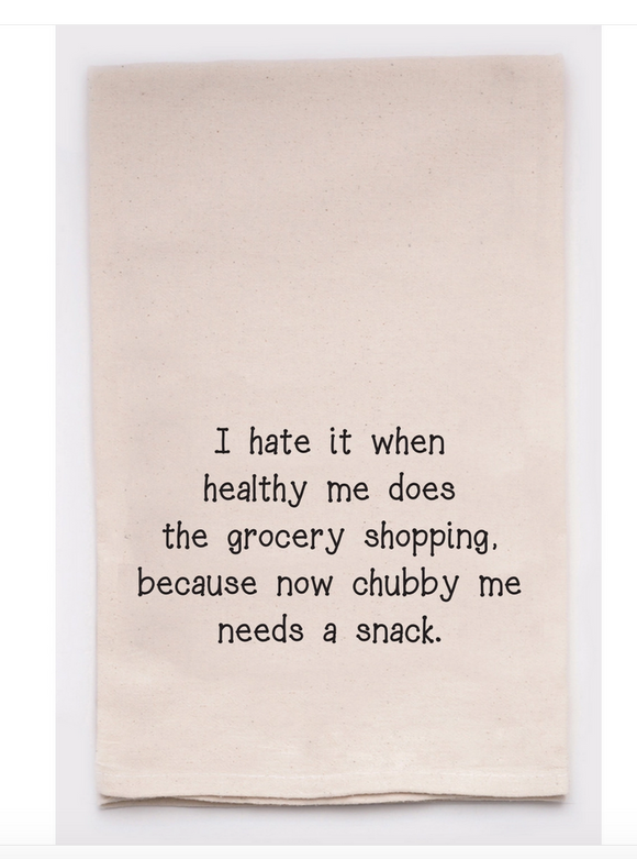 Chubby Me Funny Towel