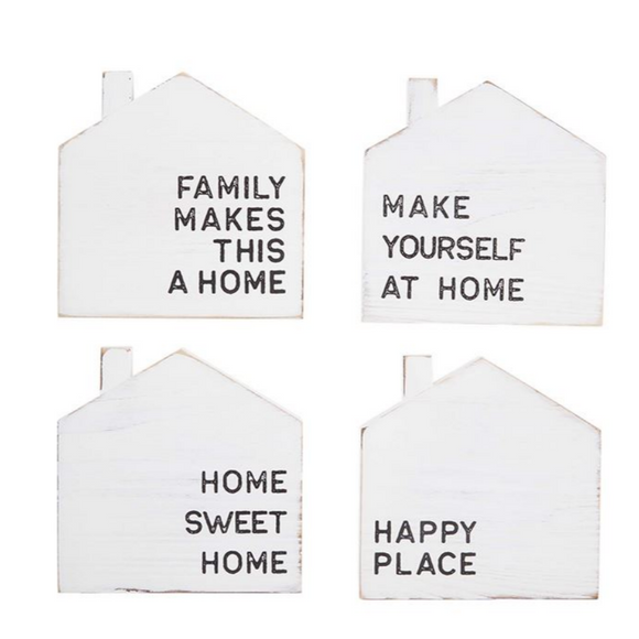 Home Coasters - Set of 4