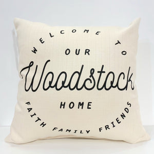 Woodstock Home Square Pillow