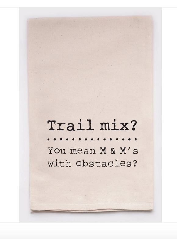 Trail Mix Funny Towel