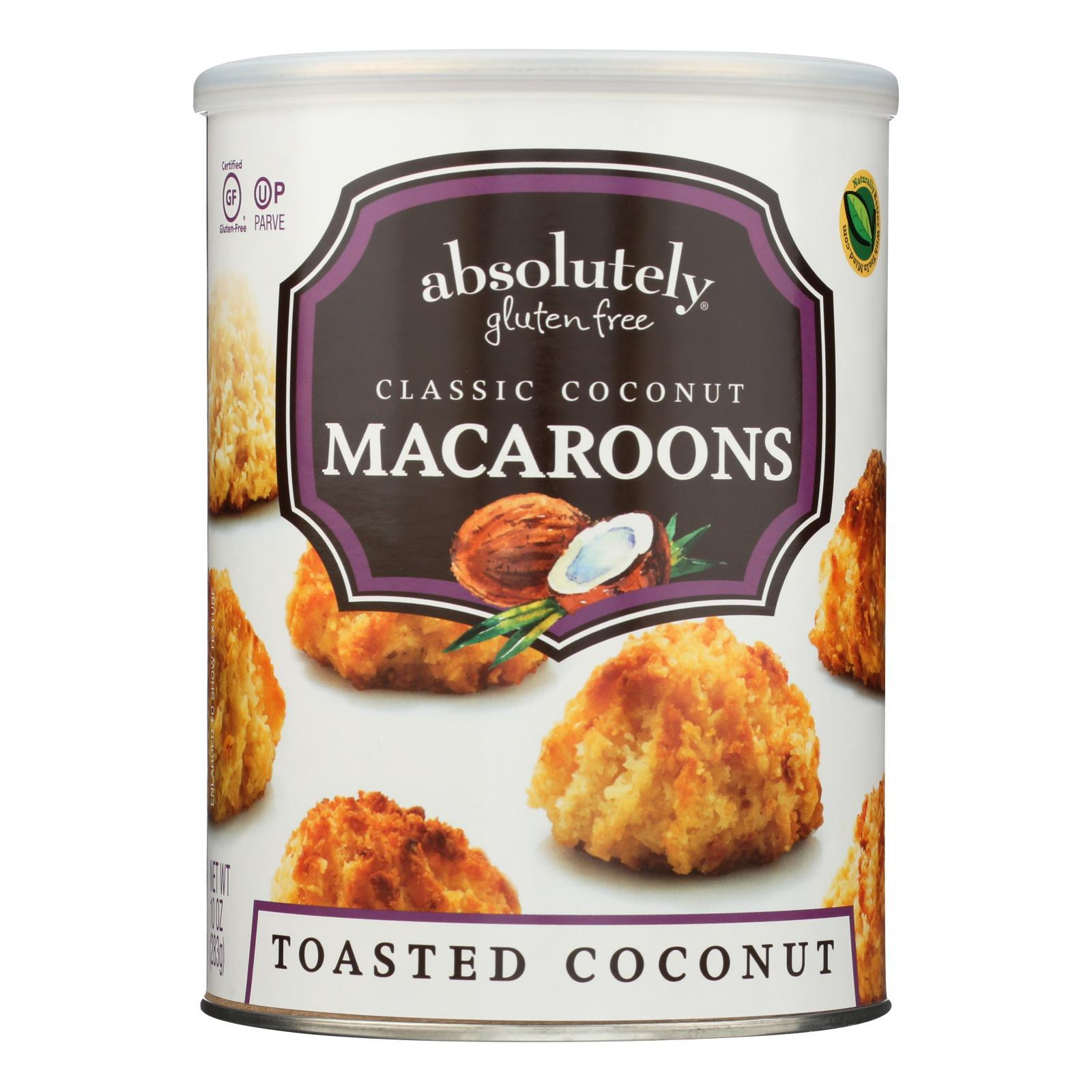 Absolutely Gluten Free Macaroons - Coconut - Classic - Case Of 6 - 10 Oz - BeeGreen