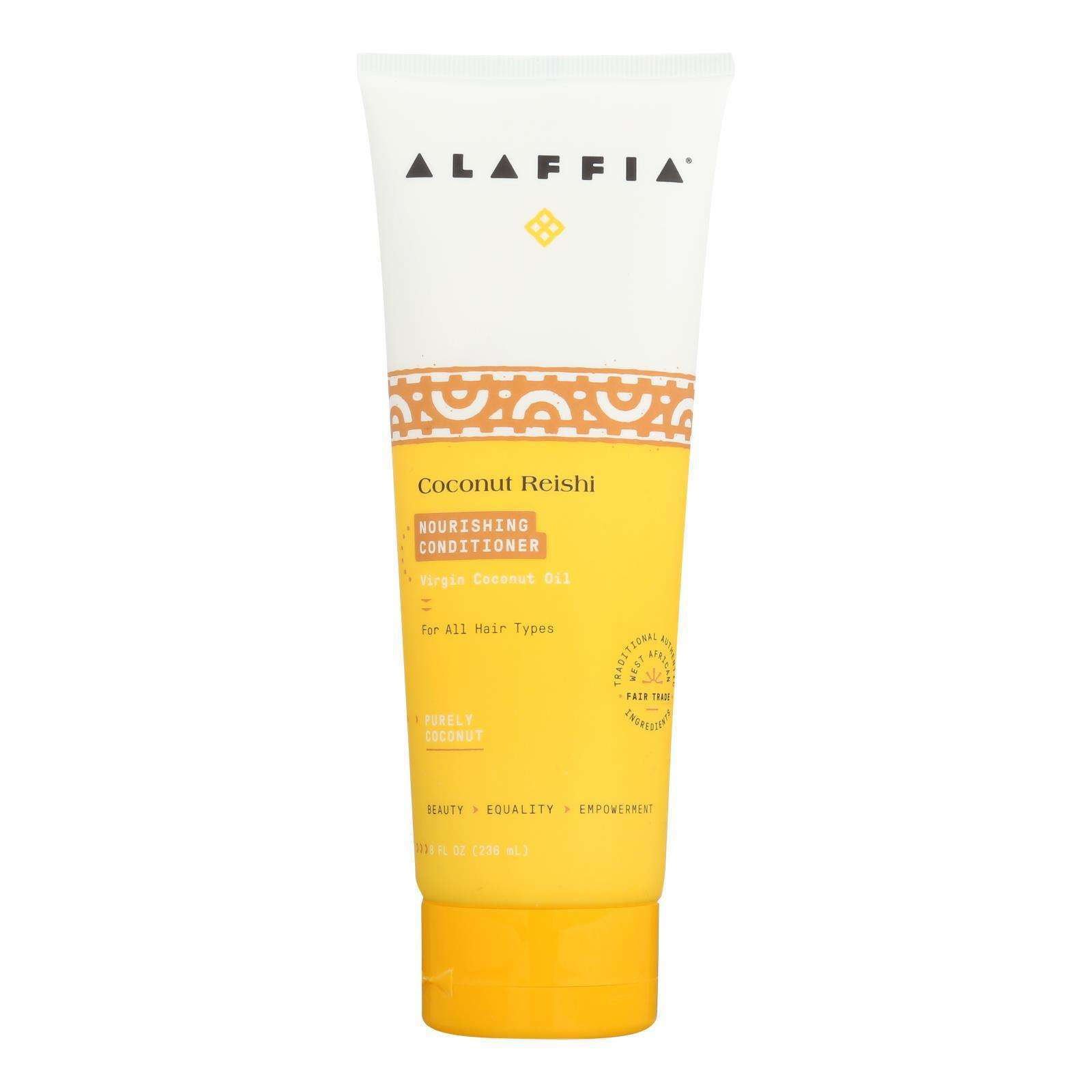Alaffia - Conditioner - Coconut Reishi - 8 Fl Oz. - BeeGreen