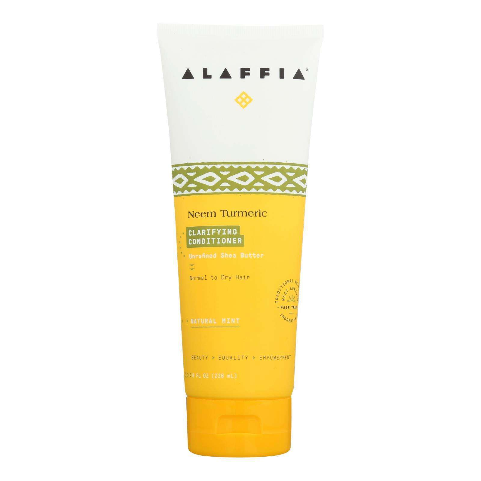 Alaffia - Conditioner - Neem Turmeric - 8 Fl Oz. - BeeGreen