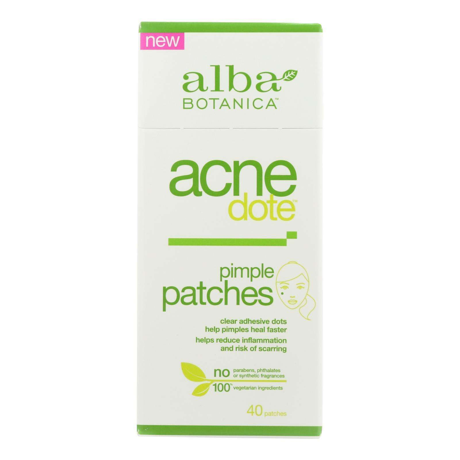 Alba Botanica - Acnedote Pimple Patches - 40 Count - BeeGreen