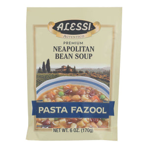 Alessi - Neapolitan Bean Soup - Pasta Fazool - Case Of 6 - 6 Oz. - BeeGreen