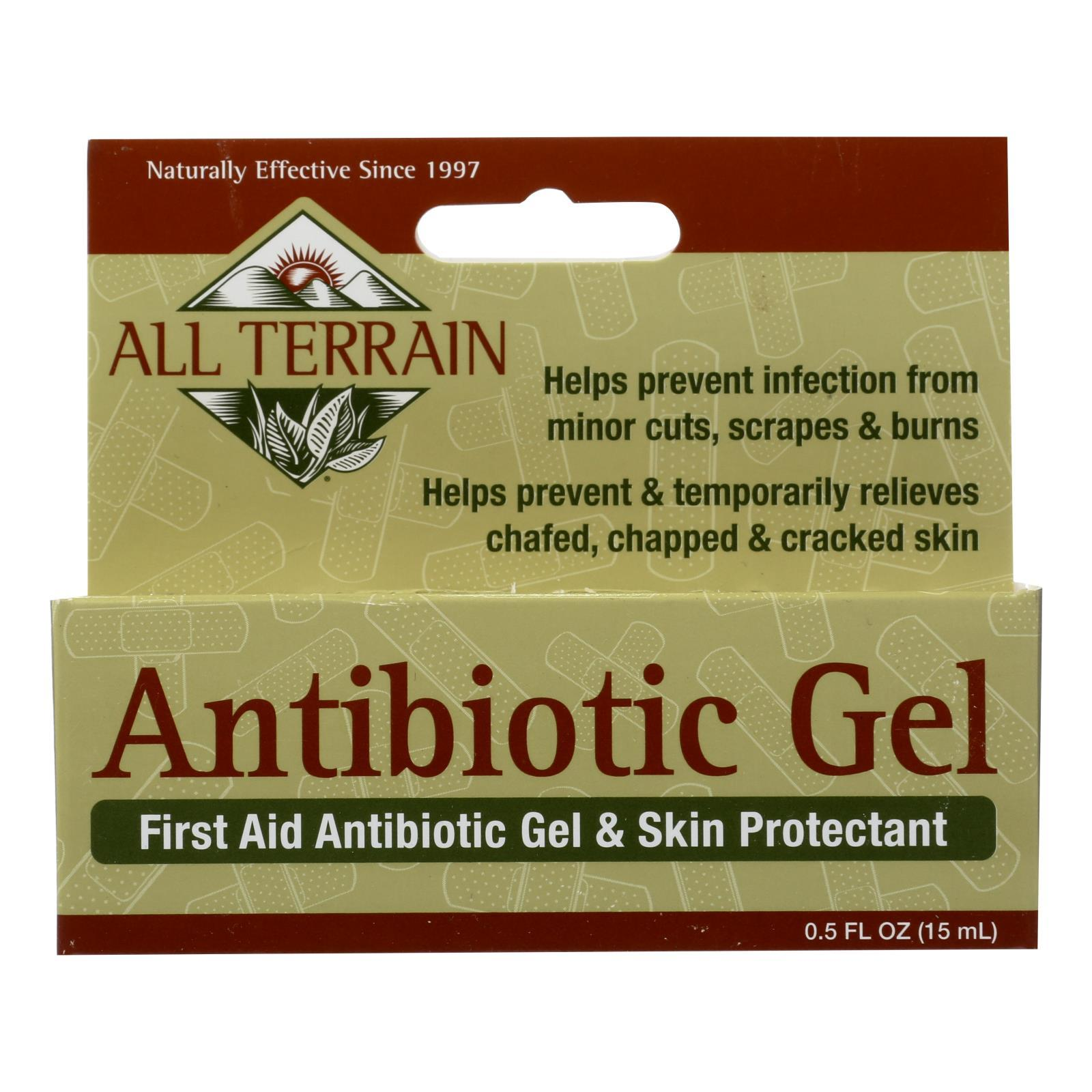 All Terrain - Antibiotic Gel - .5 Fl Oz. - BeeGreen