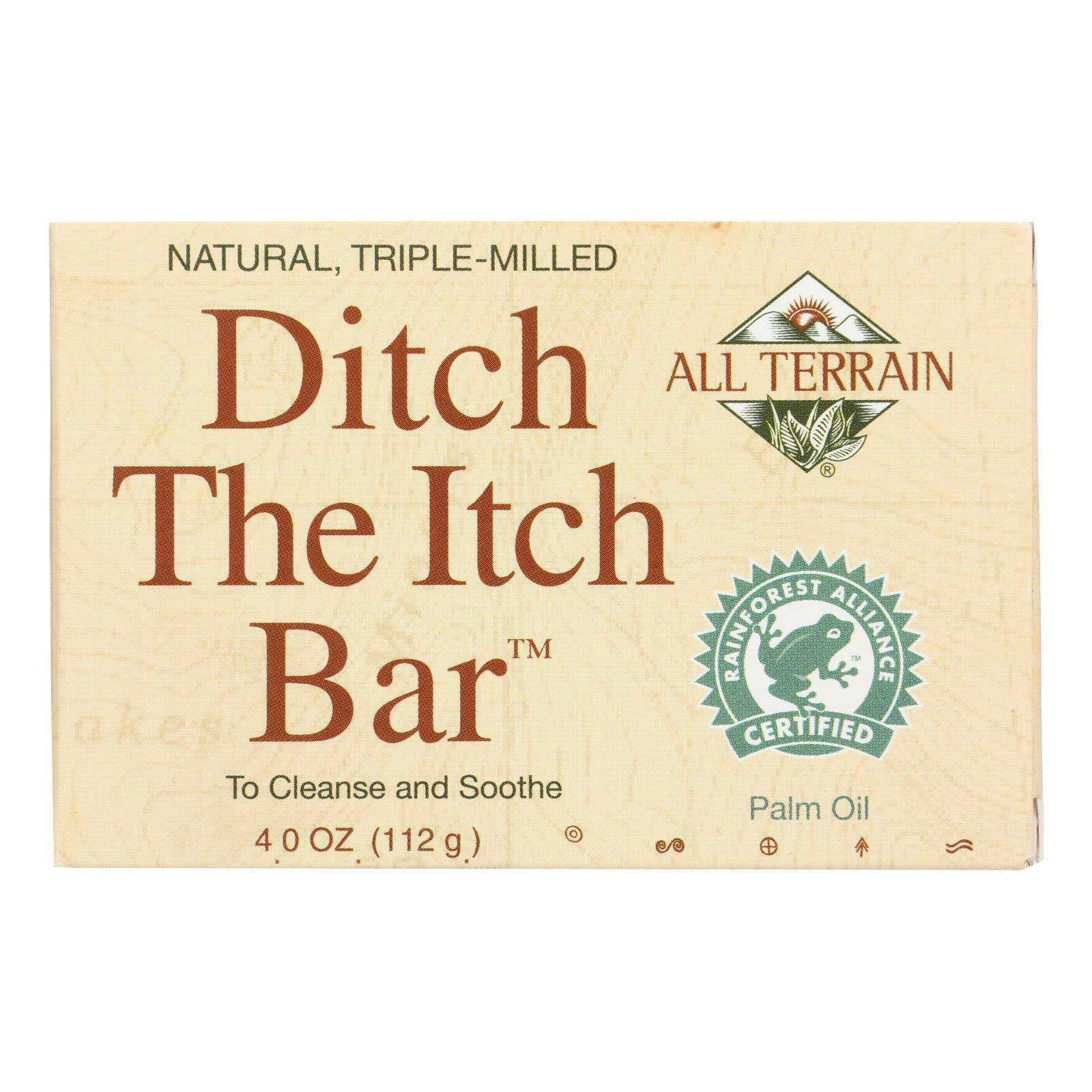 All Terrain - Ditch The Itch Bar - 4 Oz - BeeGreen