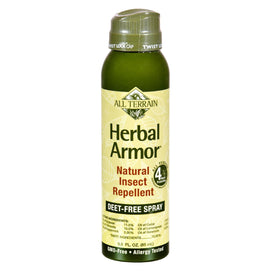 All Terrain - Herbal Armor Natural Insect Repellent - Continuous Spray - 3 Oz - BeeGreen
