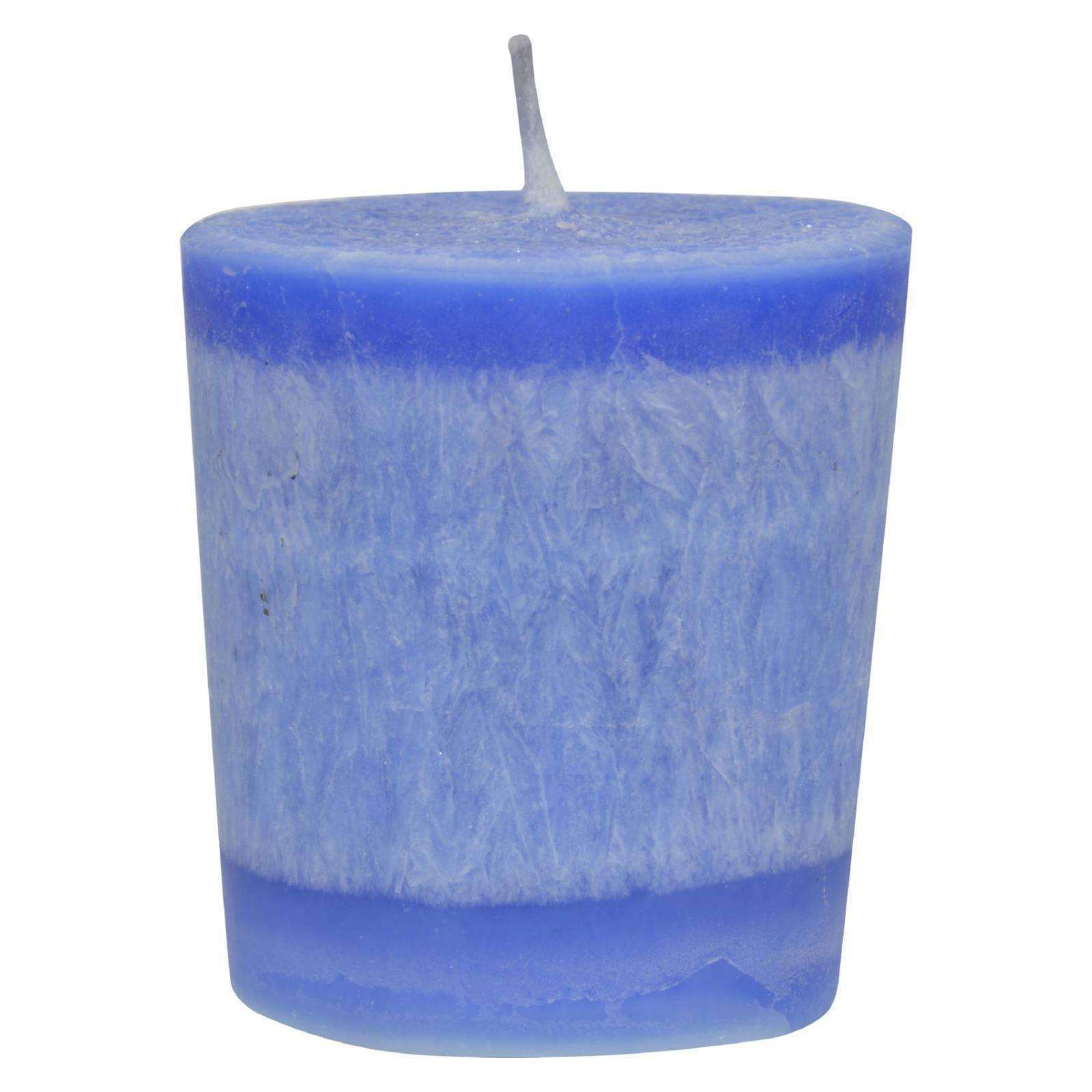 Aloha Bay - Votive Eco Palm Wax Candle - Holy Temple - Case Of 12 - Pack - BeeGreen