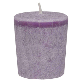Aloha Bay - Votive Eco Palm Wax Candle - Lavender Hills - Case Of 12 - 2 Oz - BeeGreen
