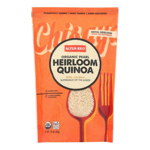 Alter Eco Americas Quinoa - Organic Pearl Heirloom - Case Of 6 - 12 Oz. - BeeGreen