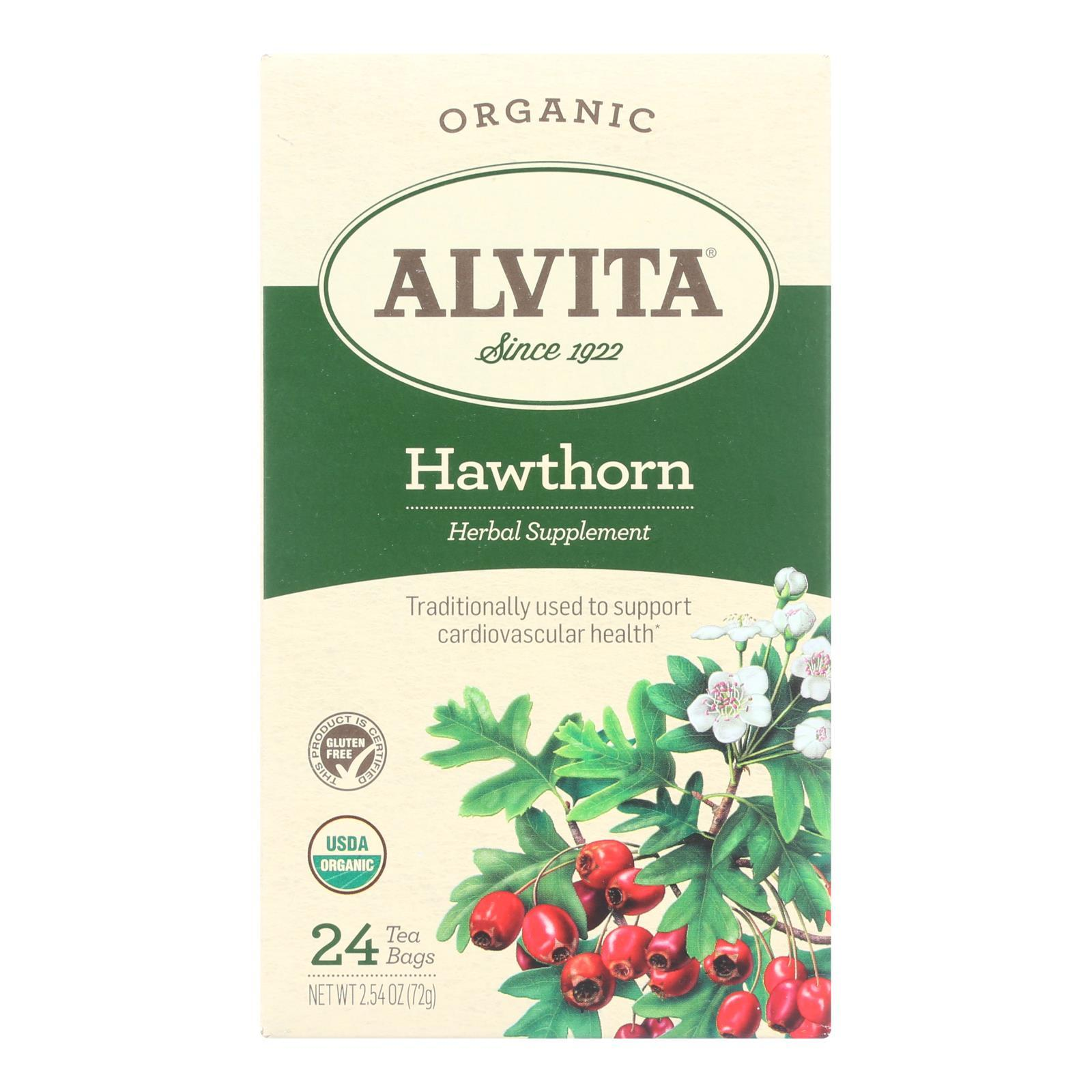 Alvita Tea Hawthorn Berry - 24 Bag - BeeGreen