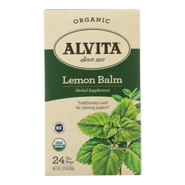 Alvita Tea Lemon Balm - 24 Bag - BeeGreen