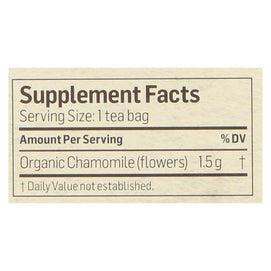 Alvita - Tea Og1 Herbal Chamomile - Ea Of 1-24 Bag - BeeGreen