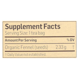 Alvita - Tea Og1 Herbal Fennel Sd - Ea Of 1-24 Bag - BeeGreen