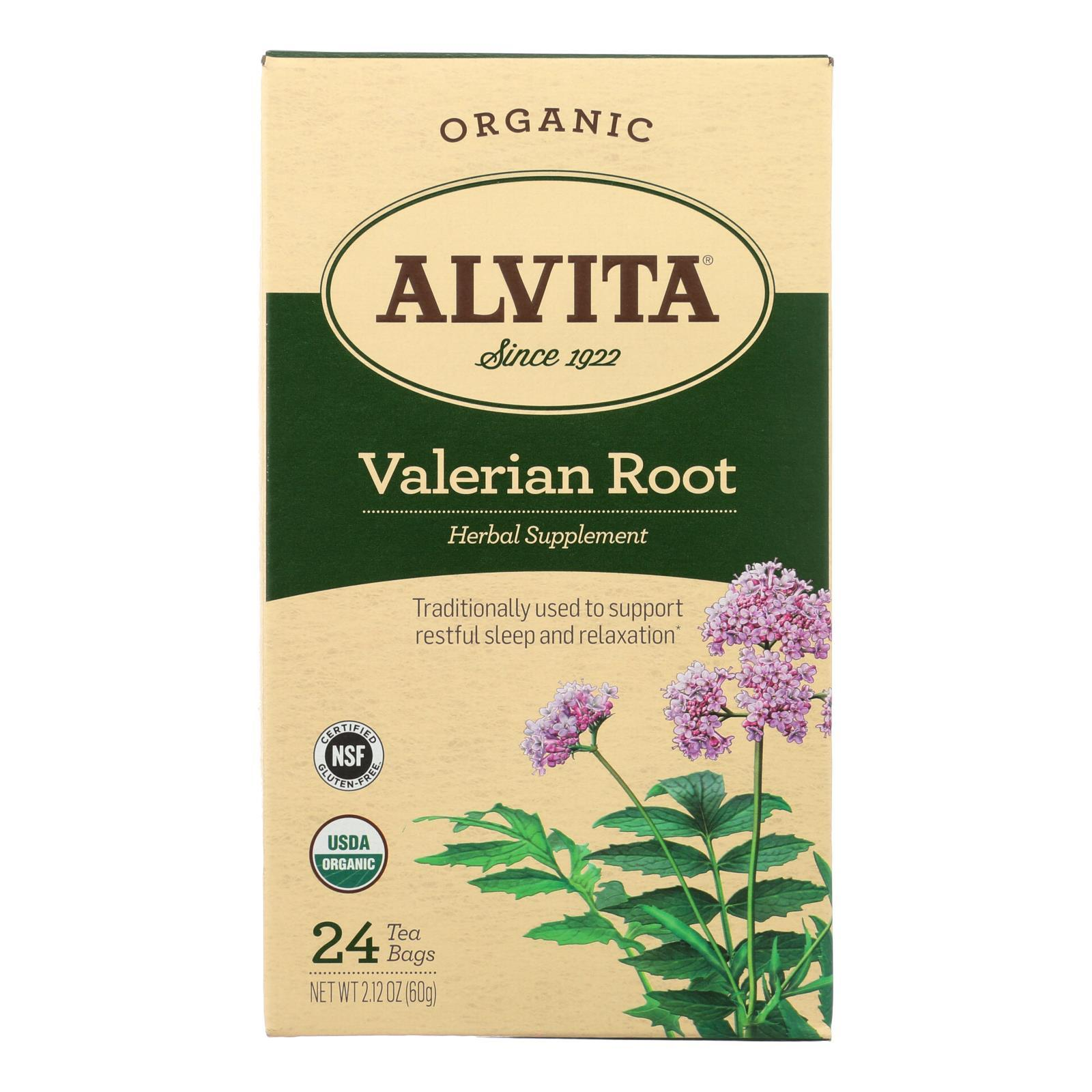 Alvita Tea Valerian Root - 24 Bag - BeeGreen