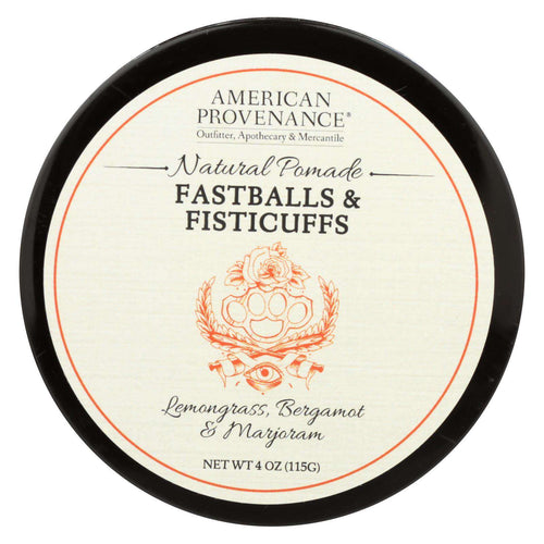 American Provenance - Hair Pomade - Fastballs And Fistcuffs - 4 Oz. - BeeGreen