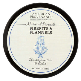 American Provenance - Hair Pomade - Firepits And Flannel - 4 Oz. - BeeGreen