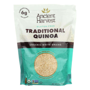 Ancient Harvest Quinoa - Organic - Traditional White - Case Of 6 - 27 Oz - BeeGreen