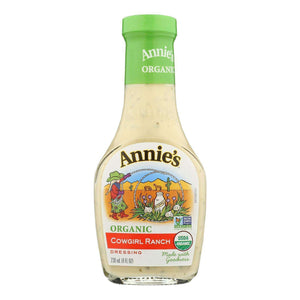 Annie's Naturals Organic Dressing Cowgirl Ranch - Case Of 6 - 8 Fl Oz. - BeeGreen