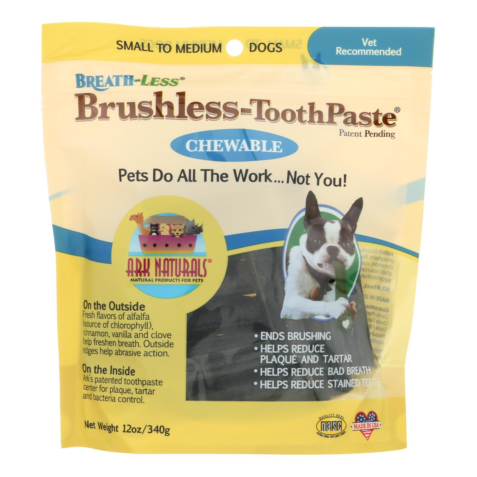 Ark Naturals Breath-less Brushless Toothpaste - 12 Oz - BeeGreen