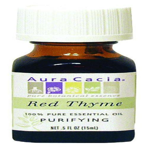 Aura Cacia - Essential Oil - Red Thyme - .5 Oz - BeeGreen