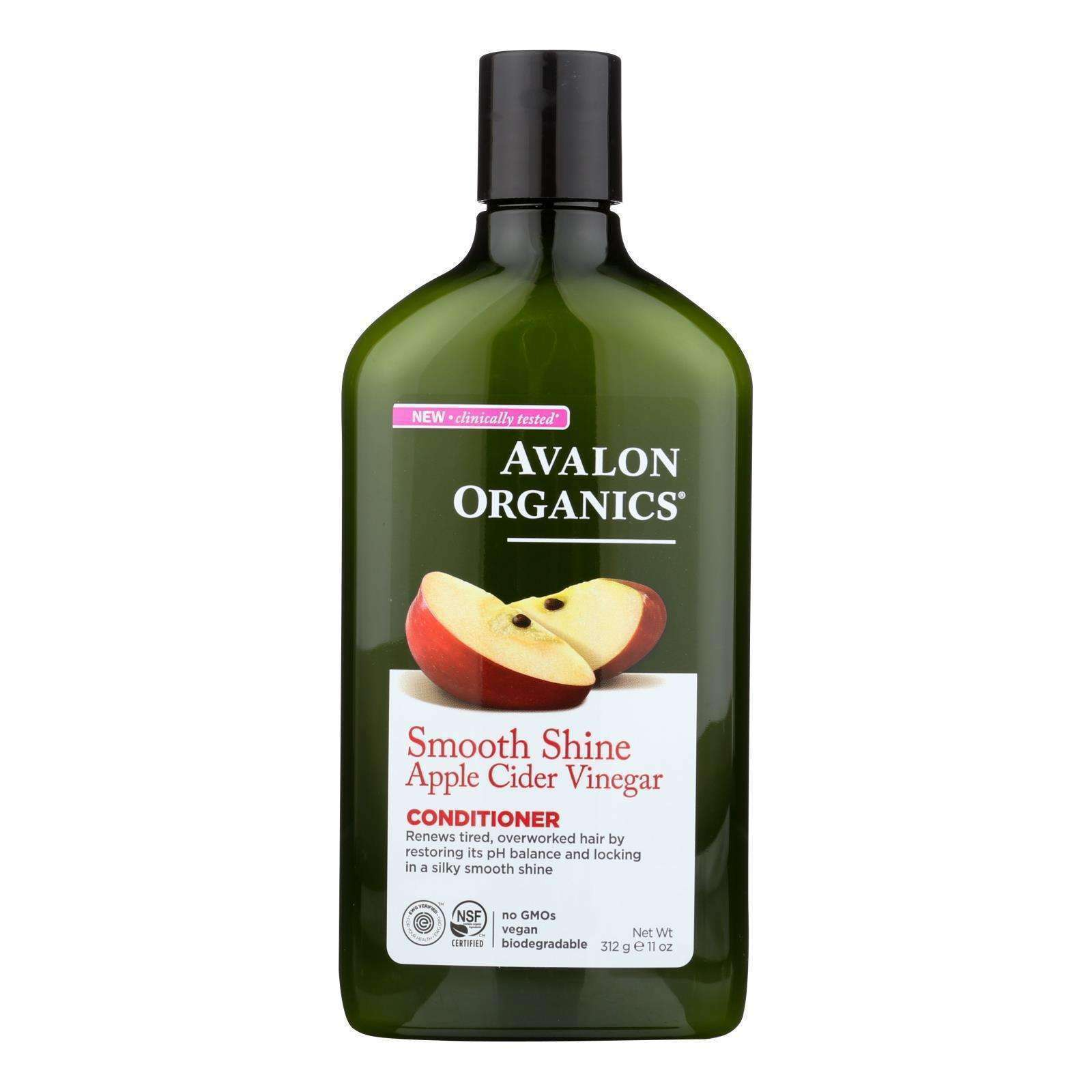 Avalon Conditioner - Smoothing - Apple Cider Vinegar - 11 Oz - BeeGreen