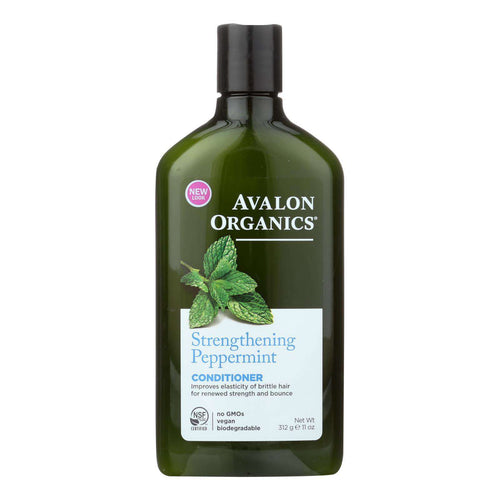 Avalon Organics Revitalizing Conditioner With Babassu Oil Peppermint - 11 Fl Oz - BeeGreen
