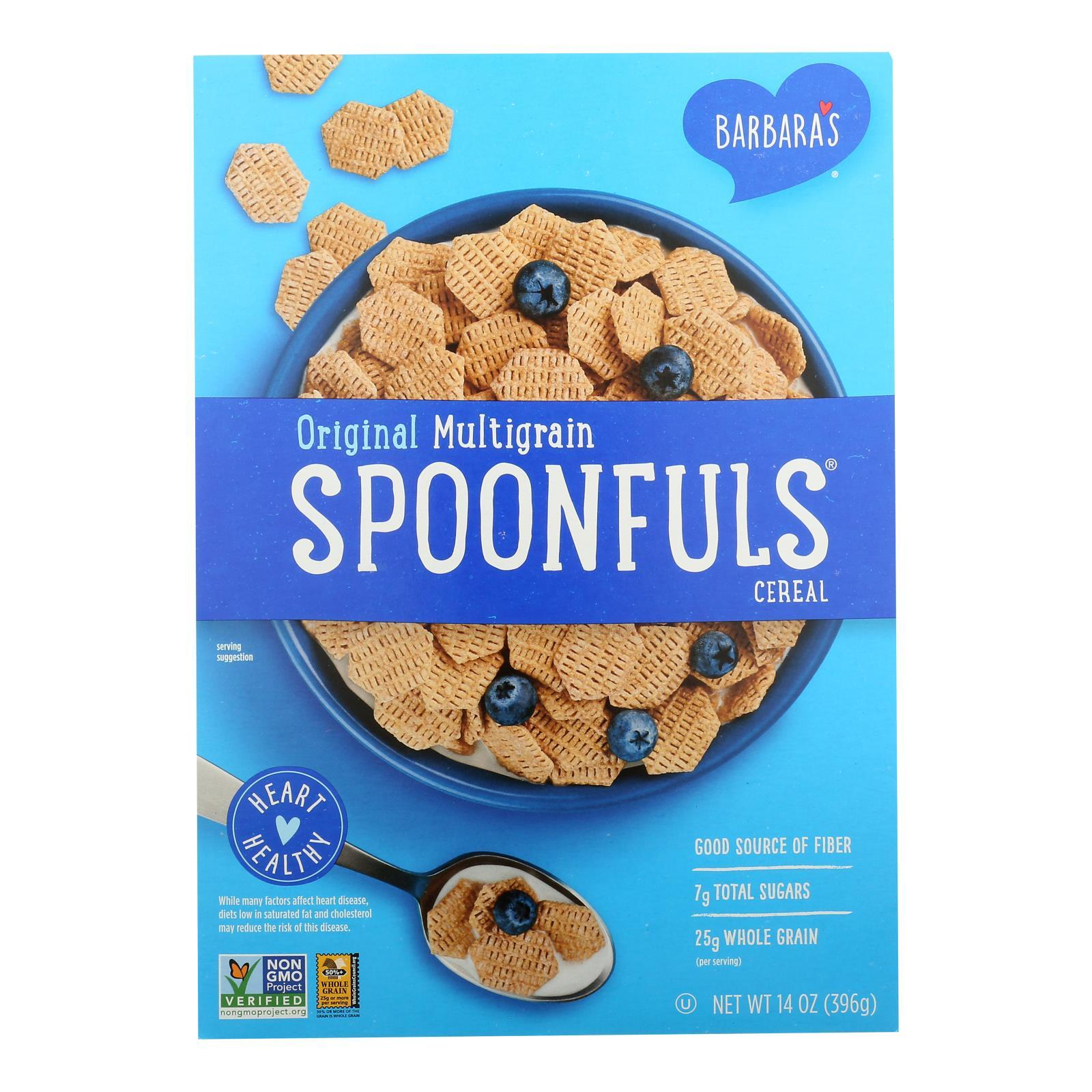 Barbara's Bakery - Spoonfuls Cereal - Multigrain - Case Of 12 - 14 Oz. - BeeGreen