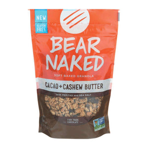 Bear Naked Granola - Cacao Cashew Butter - Case Of 6 - 11 Oz. - BeeGreen