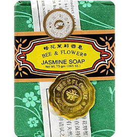 Bee & Flower Soaps Jasmine Soap Large (4x4.4OZ ) - BeeGreen