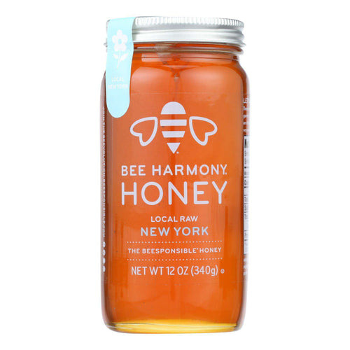 Bee Harmony - Honey - Local Raw New York - Case Of 6-12 Oz. - BeeGreen