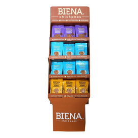 Biena Chickpea Snacks - Variety Pack - Case Of 48 - 5 Oz. - BeeGreen