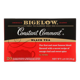 Bigelow Tea Constant Comment Black Tea - Case Of 6 - 20 Bags - BeeGreen