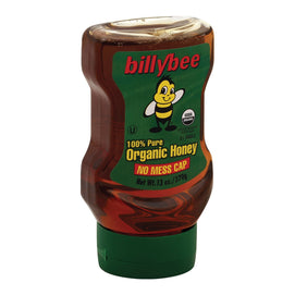 Billy Bee Liquid Honey - Upside Down Squeeze - Case Of 6 - 13 Oz. - BeeGreen