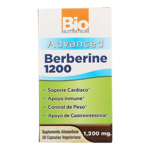 Bio Nutrition - Berberine 1200 Advanced - 1 Each - 50 Vcap - BeeGreen