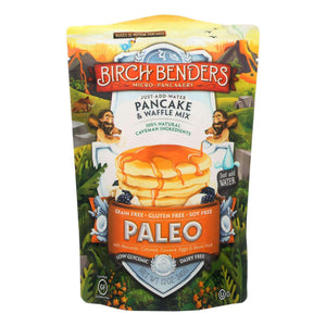 Birch Benders - Pancake And Waffle Mix - Paleo - Case Of 6 - 12 Oz - BeeGreen