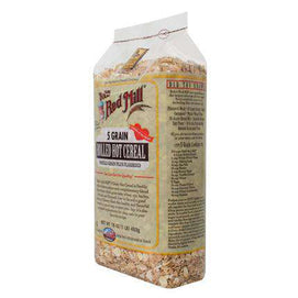 Bob's Red Mill 5 Grain Rolled Cereal (1x25LB ) - BeeGreen