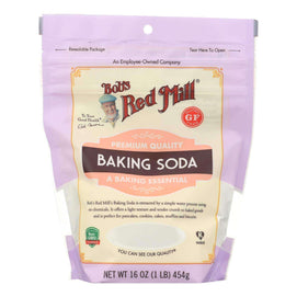 Bob's Red Mill - Baking Soda - Case Of 6-16 Oz - BeeGreen