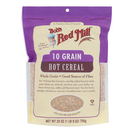 Bob's Red Mill - Cereal 10 Grain - Case Of 4-25 Oz - BeeGreen