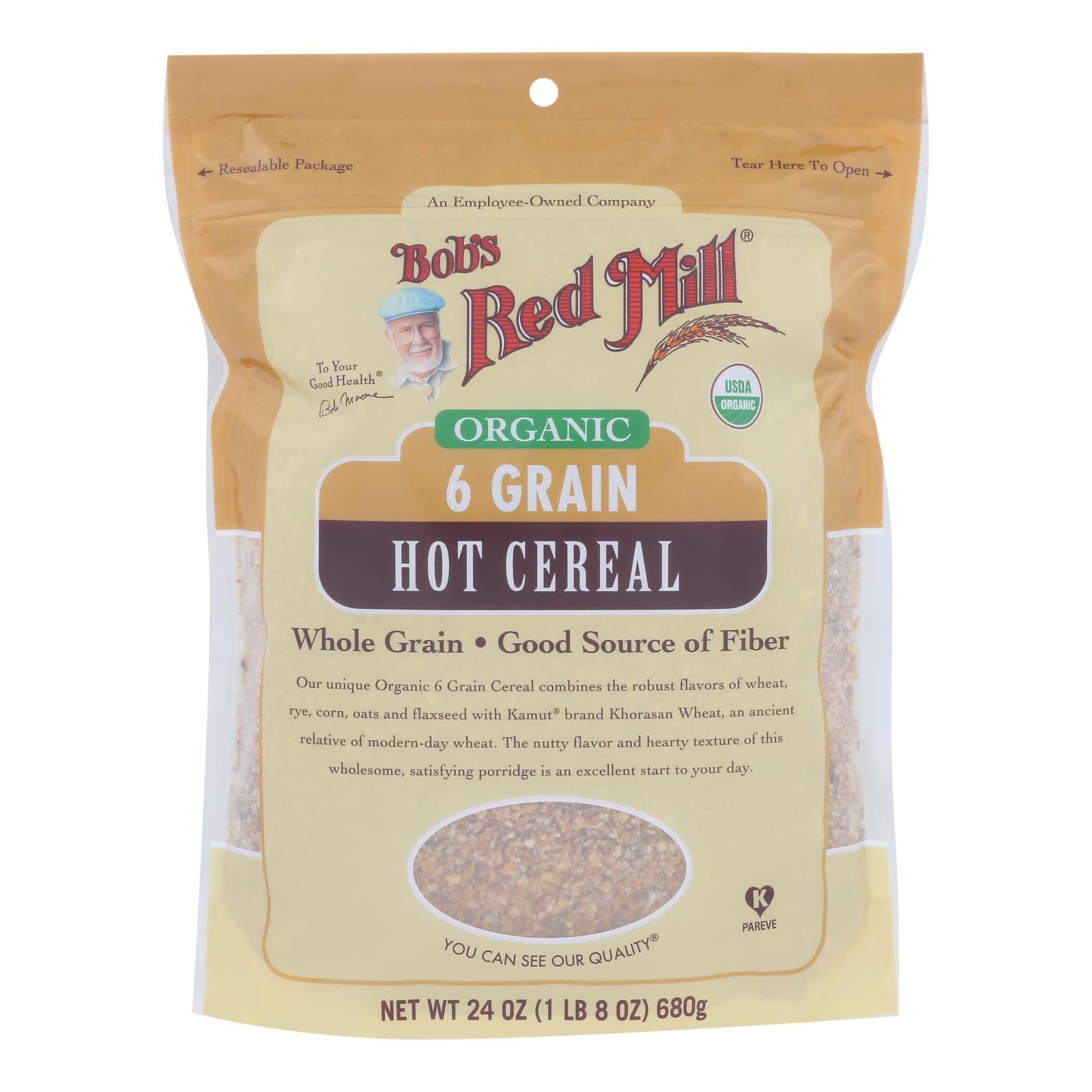Bob's Red Mill - Cereal 6 Grain - Case Of 4-24 Oz - BeeGreen