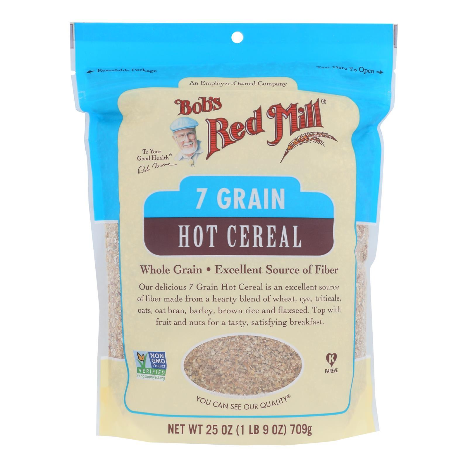 Bob's Red Mill - Cereal 7 Grain - Case Of 4-25 Oz - BeeGreen