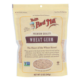 Bob's Red Mill - Cereal Wheat Germ - Case Of 4-12 Oz - BeeGreen